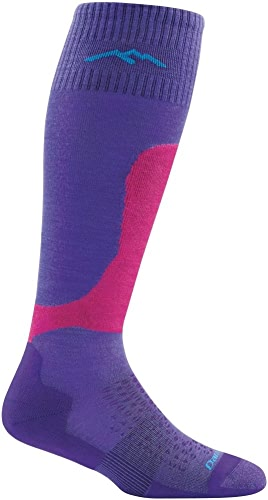 Darn Tough Fall Line OTC Padded lumière Cushion Sock - Wohommes violet grand