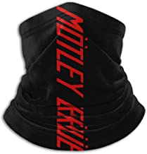 Motley Crue Riding Mask Adjustable Windproof Dustproof Cold Hot Weather Mask Headgear Motorcycle Sun Protection Headband Scarf Neck Warmer For Running Cycling Skiing Outdoor Sports Neutral