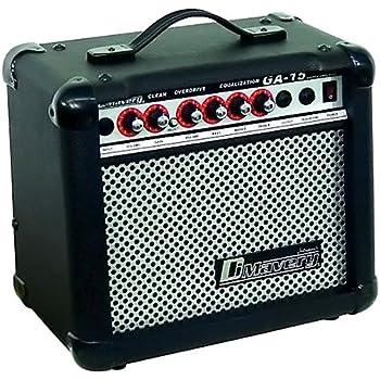 DIMAVERY GA-15 - Amplificador para guitarra eléctrica 15W: Amazon ...