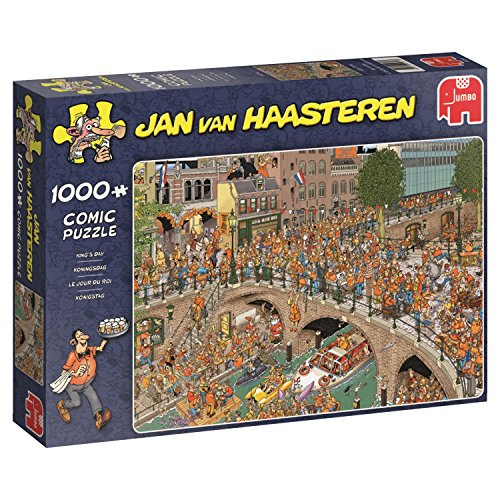 Jumbo Spiele 19054 1000 Teile Jan Van Haasteren-Königstag Puzzle
