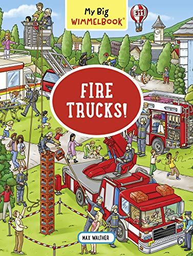 My Big Wimmelbook—Fire Trucks! (My Big Wimmelbooks)