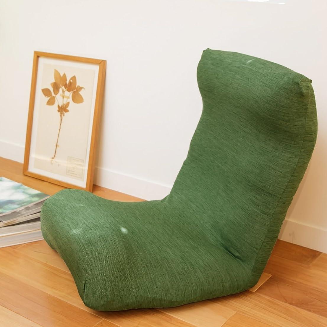 ヨーグルト拘束気質窓美人 ラッキークローバー 伸縮 座椅子カバー チェアカバー リーフグリーン 伸縮自在でしっかりフィット 撥水 防汚 洗濯可