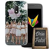dessana Coque de protection en silicone TPU pour Motorola Moto G4 Play - Cadeau personnalisé - Sans...
