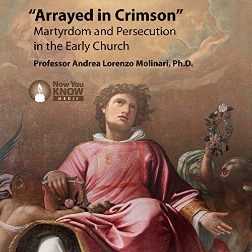 Arrayed in Crimson audiobook cover art