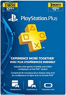 Sony - 3 Month Membership PSN Live Subscription Card for PS3