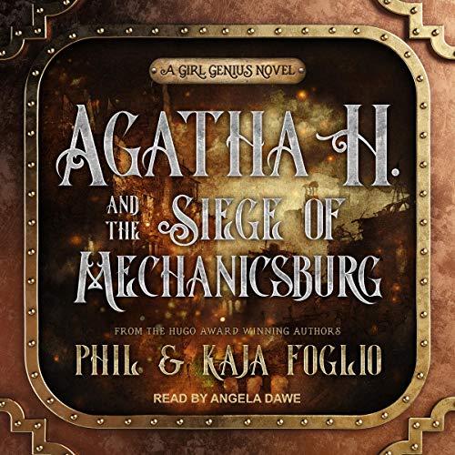 Agatha H. and the Siege of Mechanicsburg cover art
