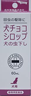 【動物用医薬品】内外製薬 犬チョコシロップ 犬用 60ml