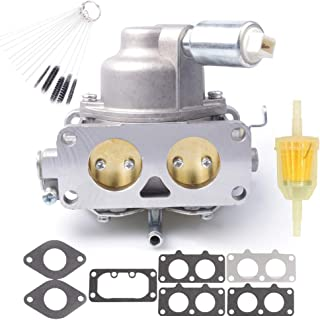 Dosens Carburetor Carb Replacement for Briggs & Stratton 791230 799230 699709 499804 V-Twin 20hp 21hp 23hp 24hp 25hp Manual Choke with Gasket & Carbon Dirt Jet Cleaner Tool Kit