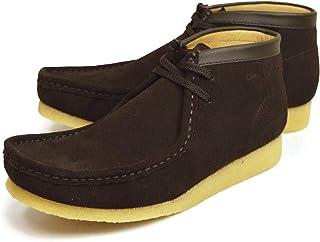 [ゴールデンレトリバー] 本革 ワラビー ブーツ メンズ クレープソール 天然ゴム モカシン 革靴 靴 カジュアル レザー シューズ