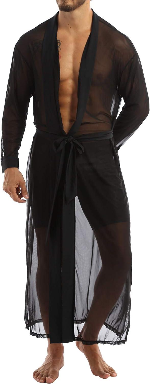 Doomiva Men's Ruffle Shawl Collar Cardigan Long Sleeve Open Front Lightweight Long Drape Cape