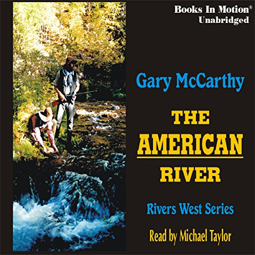 The American River audiobook cover art