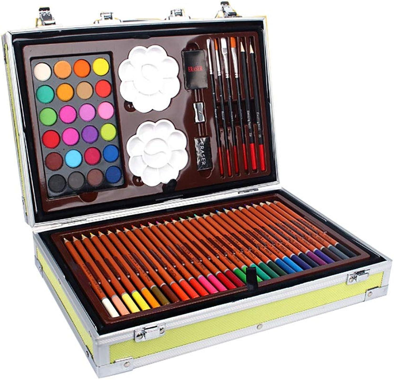 Wuxingqing Farbstifte Skizzensatz Aquarell Pen Set Box Box Box Zeichnung Deluxe Art Set Aquarellmalerei Set Aquarellmalerei Farbstifte (Farbe   Gelb, Größe   Free Größe) B07QFPYH5B | Das hochwertigste Material  d29215