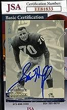 SAM HUFF 1994 Ted Williams JSA Coa Hand Signed Authentic Autograph