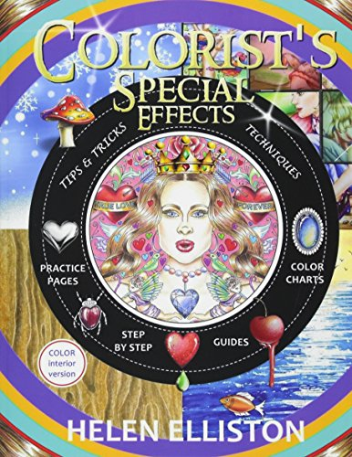 Colorist's Special Effects - color interior: Step by step guides to making your adult coloring pages POP! (Jewel Effects)