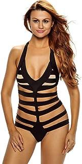 Black One-piece & Monokini Beach Swimwear Swimsuit For Women