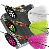 Mepps Black Fury Dressed Bass Fishing Lure Pocket Pack