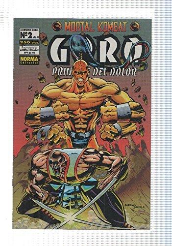 Mortal Kombat Goro principe del dolor numero 2