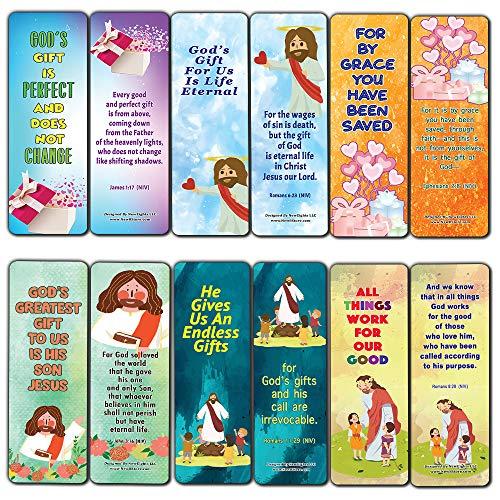 Tarjetas populares con versículos bíblicos sobre la vida eterna (30 unidades) – Versículos de memoria diaria para niños