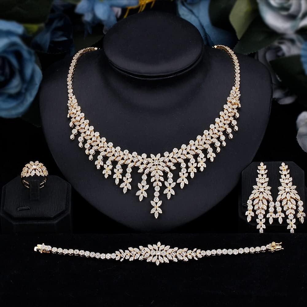 Columbus Luxury Mall SYXMSM Jewellery Set Bridal Tassels Jewelry Arborization Cub