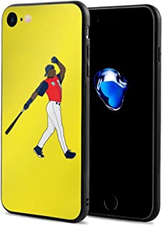 iPhone 7 Case Seattle Griffey Jr Home Run Derby Ultra-Thin Back Case Shock-Absorption Design Printed Pattern Silicone Bumper Cover for Apple iPhone 7/8