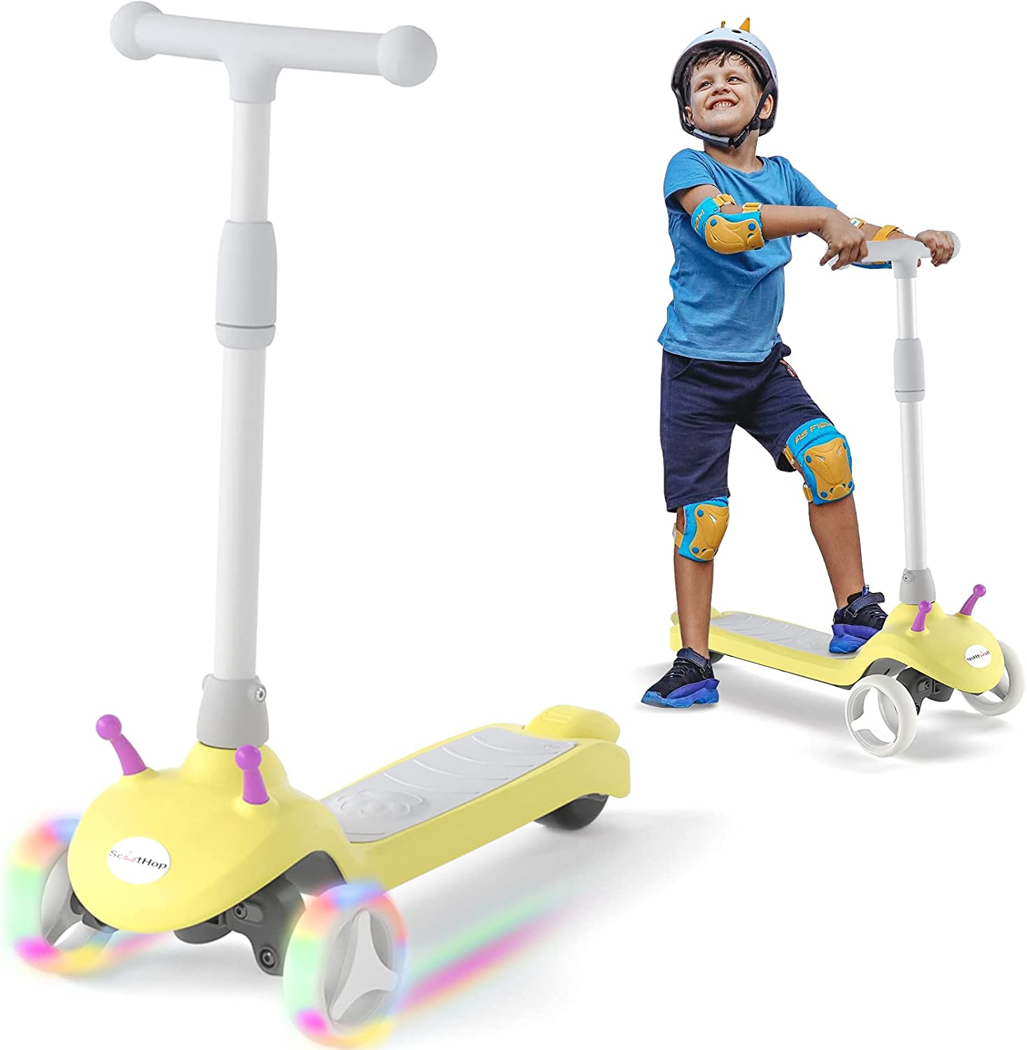 ScootHop Electric Wholesale Scooter for Under blast sales Kids an Ages 2-8 Kick-Start Boost
