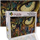 GFSJJ Puzle 1000 Piezas para Infantiles Niño Adultos Adolescentes Arte De Ojos Puzzles Cuadros Famosos Hombre Regalos para Navidad (75 X 50 Cm)