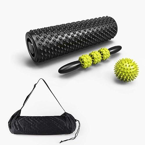 Xiao Jian- Fitness Mousse Axe Muscle Relaxation Roller Stovepipe Pointes Flottante Point De Massage Baton Yoga Colonne Roller Tube Cercle de Yoga (Couleur   E)