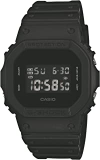 Casio Mens Digital Watch with Resin Strap DW-5600BB-1ER