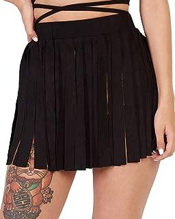 Sheer, Fringe Skirts - Maxi & Thigh High Festival Skirts