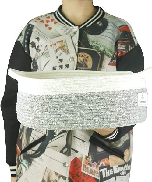 大型的蓝包,安藤的天然棉布,用棉布的棉布和皮布·皮布