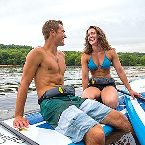 5 Colors Inflatable Life Jacket Waist Belt Flotation Device with ...