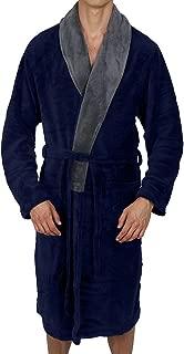 Luxurious Men's & Womens Hooded Robe & Shawll Collar Soft Fleece Bathrobe Spa Robe