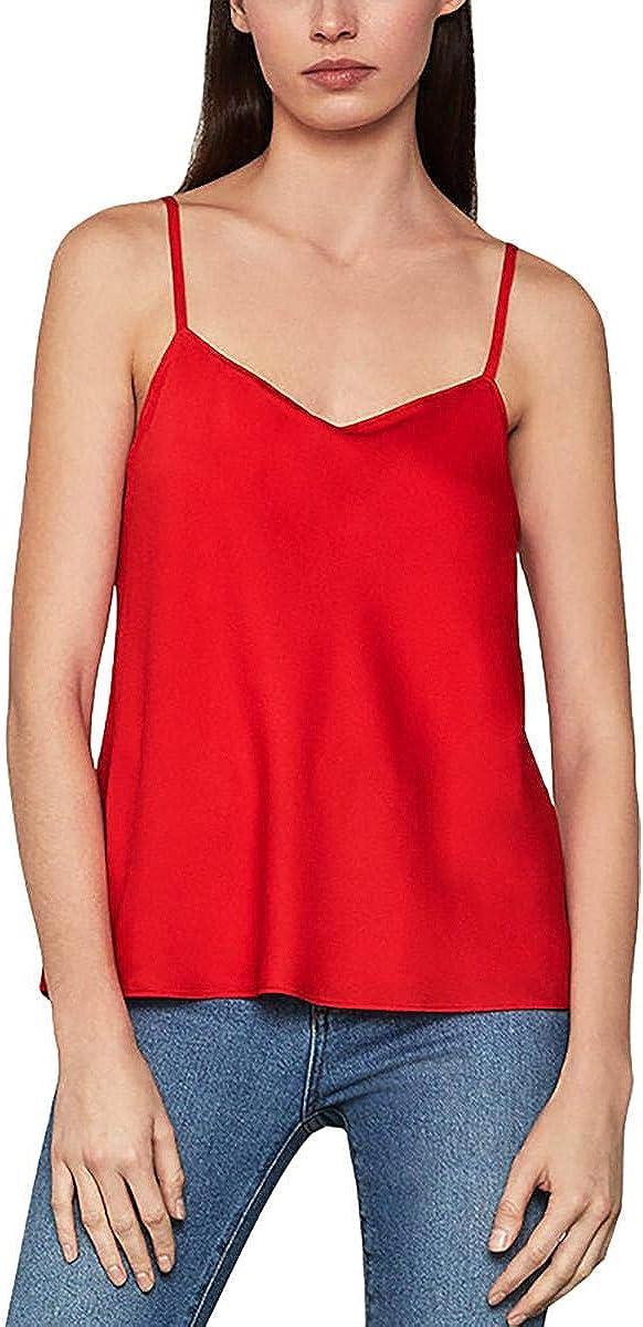 BCBGMAXAZRIA Womens Sleeveless Max 64% OFF Super beauty product restock quality top! Cami Shine