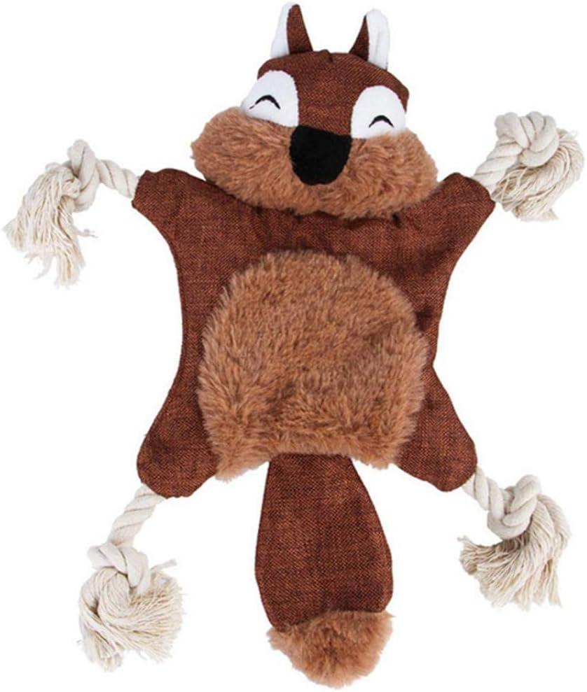 MJuAn Mesa Mall BACUTEBY Dog Plush Toy Max 66% OFF Squirrel Paper Shape Sque Sound Fox