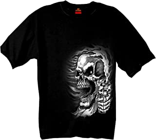 Hot Leathers Assassin 100% Cotton Double Sided Printed Biker T-Shirt
