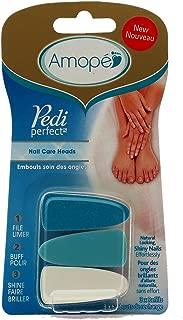 Amope Pedi Perfect Nail Care Heads (3 Pack)