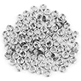100Pcs Stainless Steel Wire Thread Inserts, Helical Coiled Wire Helical Screw Threaded Ins...