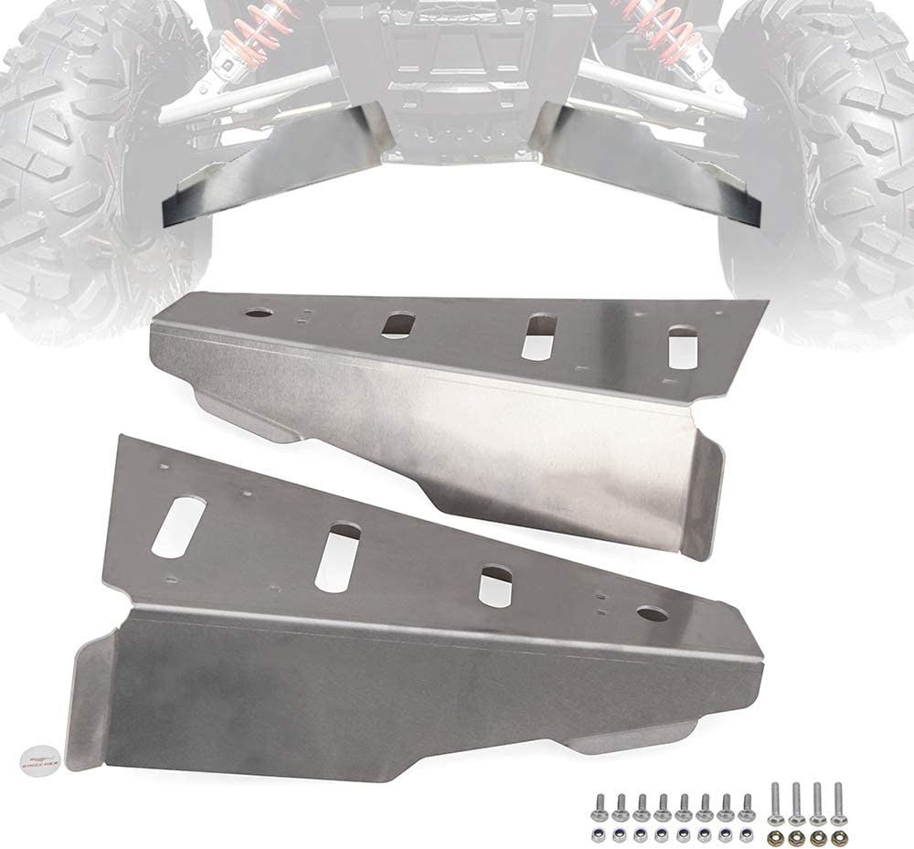 ELITEWILL Silver 2Pcs Aluminum Free shipping anywhere in the nation Side By A-Arm Rear Front G New life