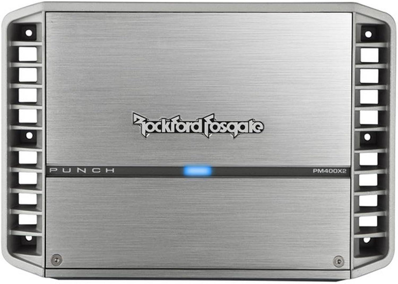 Rockford PM400X2 400 Watt 2Channel Amplifier