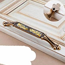 Luxe Meubelgreep Vintage Brons Keukenkast Knoppen en Handvatten Garderobe Kast Deur Handvat Lade Trekt Noble-L