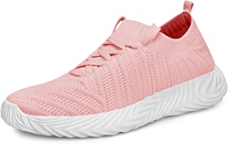QANSI Womens Sneakers Mesh Comfortable Lightweight...