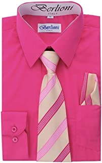 96e41fc05 Amazon.com: Pinks - Button-Down & Dress Shirts / Clothing: Clothing ...