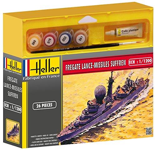 Heller Junior - 49033 - Maquette - Frégate Lance-Missiles Suffren