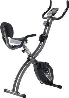ALINCO(アルインコ) フィットネスバイク コンフォートバイク [1年保証] 心拍数測定 背もたれ・ハンドル・スマホトレー付き 折りたたみ可能 省スペース AFB4520K
