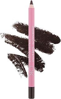 OK Beauty Waterproof Smudge-Proof Makeup Dark Brown Eye Liner Kajal Pencil And Eyeshadow In 3 Trendy Colors (LOON)