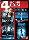 4 Sci-Fi Film Favorites (I, Robot / Independence Day / Prometheus / The Abyss (Special Edition))