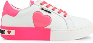 Love Moschino Women's Heart Logo Low Top Shoes Sneakers Trainers