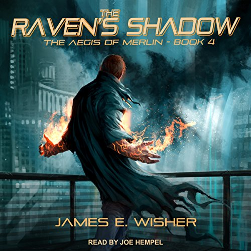 The Raven's Shadow audiobook cover art