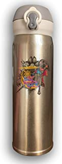 Tazas térmicas, Termo,Botella de agua, Bounce Cover Designed Super Hero Dog Strange Magic Power,Leak-Proof Vaccum Cup,Travel Mug With Stainless Water Bottle,Sports Drinking Bottle Fashion