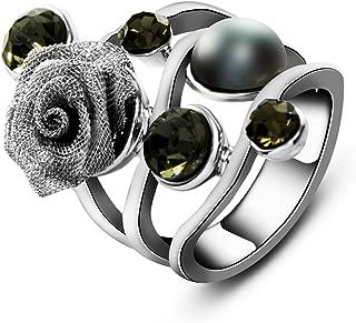 Best vintage black pearl engagement rings Reviews